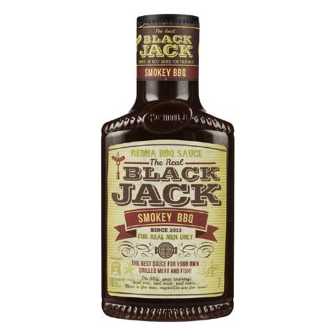 Remia Black jack smokey bbq